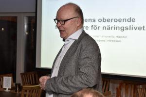 Robert Forsberg, projektledare för internationell handel på Norrbottens Handelskammare. FOTO: STERLING NILSSON
