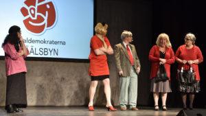 På socialdemokraternas partimöte får vi veta att allt är Vidsls fel. FOTO: STERLING NILSSON