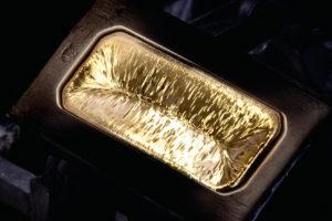 Guldtacka från Boliden.
