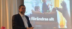 Älvsbyhus storsatsar och siktar mot dubbel produktion till 2025. Kent Johansson, VD, berättade om planerna under en presskonferens i Luleå på tisdagen.