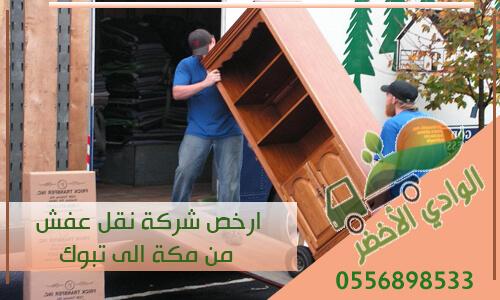 ارخص شركة نقل عفش من مكة الى تبوك