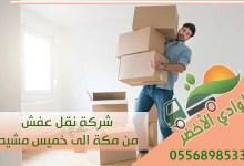 شركة نقل عفش من مكة الى خميس مشيط