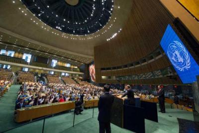 الحملة الدولية لنقل ملف عرفات للأمم المتحدة تسلم رسالة الى بان كي مون