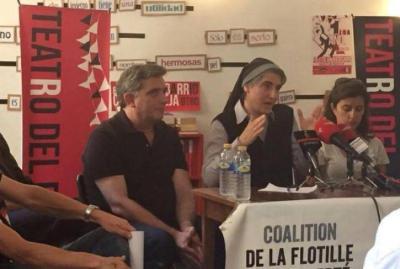 راهبة إسبانية تعلن مشاركتها بأسطول الحرية الثالث المتجه لغزة