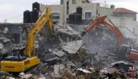 """جيش الاحتلال يهدم مدرسة """"التحدي 13"""" جنوب الخليل"""