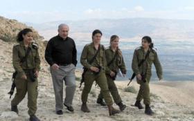 قرار بشأن مجندات جيش الاحتلال