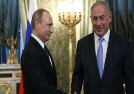 بنيامين نتنياهو و فلاديمير بوتين