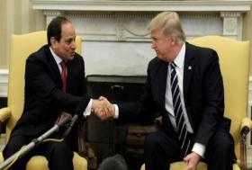 الرئيس السيسي ودونالد ترامب