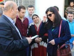 سرايو الوادية بغزة يستقبل وزيرة الاقتصاد الوطني
