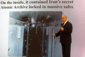 """نتنياهو يكشف عن برنامج نووي """"سري"""" لإيران"""