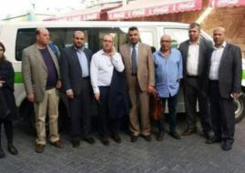 """وفد طبي من فلسطينيي 48 يصل غزة.. والاحتلال يزعم أنه """"إسرائيلي"""""""
