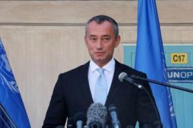 ميلادينوف يدعو الاحتلال للحد من استخدام الرصاص على حدود غزة
