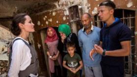 أنجلينا جولي من الموصل: هذا أسوأ دمار شهدته منذ عملي مع مفوضية اللاجئين