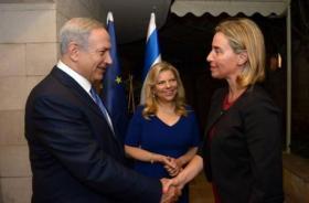 لرفض نتنياهو لقاءها.. موغريني تلغي زيارتها لدولة الاحتلال