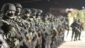 هيئة حقوقية: أفراد لا ينتمون للأجهزة الأمنية قمعوا تظاهرة رام الله ويجب صرف رواتب غزة