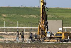 إسرائيل تعلن اتمام بناء جزء من الجدار الجوفي مع غزة