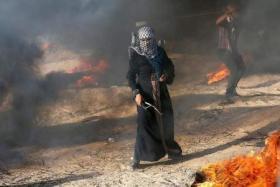 """غزة تستعد لانطلاق جمعة """"انتفاضة القدس"""""""