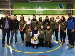 فريق ابداع يتصدر دوري كرة الطائرة النسوية والزاوية وصيفا