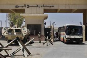 مصر تقرر فتح معبر رفح البري غدا الاثنين