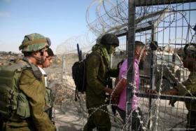 اعتقالات في الضفة الغربية واطلاق نار على معتقل هداريم