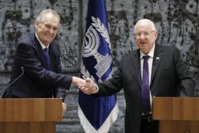 """الرئيس التشيكي: أنا """"يهودي"""" وسأفعل كل شيء لنقل السفارة للقدس"""