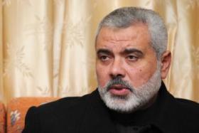 هنیة یدعو إيران لمواجهة مشروع القرار الأمریکي