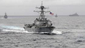 مدمرة أميركية تتحدى بكين وتعبر بحر الصين الجنوبي
