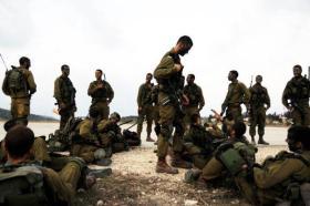"""تدريبات أمنية موسعة في مستوطنة """"أشكول"""" بغلاف غزة"""