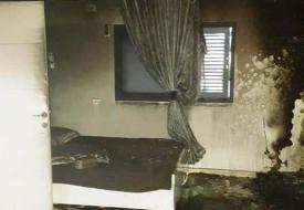 كفر قاسم.. مصرع طفلين إثر حريق اندلع في منزلهما (صور)