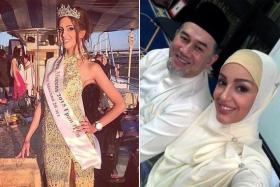 أنباء عن طلاق ملك ماليزيا من زوجته الروسية بعد تخليه عن العرش