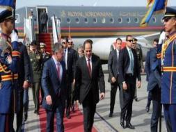 السيسي والملك عبد الله يؤكدان أهمية استئناف المفاوضات الفلسطينية الإسرائيلية وفق مبادرة السلام العربية