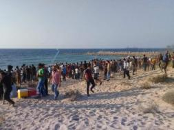 اصابات بالرصاص والاختناق خلال قمع الاحتلال مسيرة سلمية شمال قطاع غزة