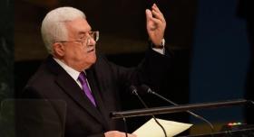 """الأمم المتحدة: أبومازن لم يطلب رسميًا عضوية كاملة لـ""""فلسطين"""""""