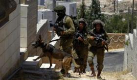 """اعتقال 4 مواطنين واطلاق قنابل """"انيرجيا"""" خلال اقتحام المنازل"""