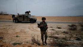 تعرض مركبة للجيش الإسرائيلي لإطلاق نار قرب الحدود المصرية