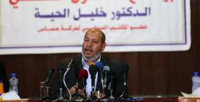 """خليل الحية: من المبكر الحديث عن إدارة لـ """"قطاع غزة"""""""