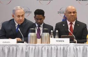 أول تعليق من وزير خارجية اليمن على صورته بجانب نتنياهو