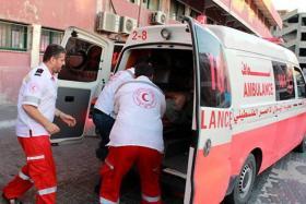 إصابة أربعة مواطنين جراء قصف طائرات الاحتلال لمواقع في قطاع غزة