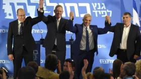 """حزب """"أزرق أبيض"""" يتبنى سياسة الانفصال عن الفلسطينيين"""