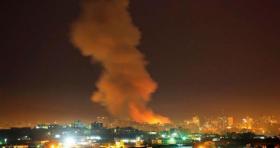 الاحتلال يشن غارات عنيفة على مواقع في غزة