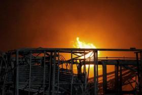 بالفيديو.. لحظة انفجار مصنع كيماويات في الصين أدى إلى وفاة أكثر من 60 شخصاً