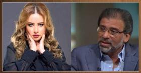 """شاهد.. مي العيدان تهاجم خالد يوسف بسبب """"الفيديوهات الجنسية"""""""
