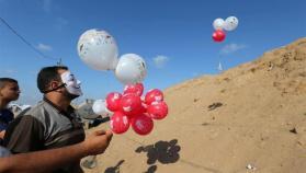 عضو كنيست : ضحكوا عندما وصفت البالونات الحارقة بصواريخ القسام