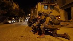 شاهد  اشتباك مسلح بين قوات الاحتلال ومنفذ عملية أرئيل