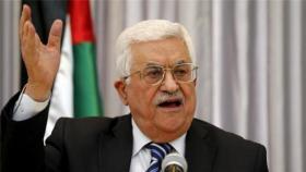 الرئيس عباس يستنكر الحريق الذي اندلع فوق المصلى المرواني بالأقصى