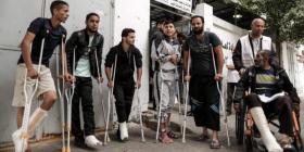 """تعميم من برنامج الصحة في """"الأونروا"""" لمصابي مسيرات العودة"""