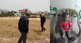 العثور على جثة الطفل المفقود في رفح محمود شقفة (صورة)