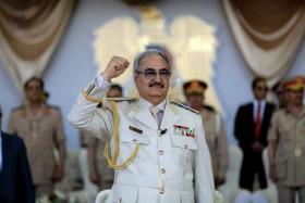 معارضة دولية لعملية خليفة حفتر العسكرية في ليبيا
