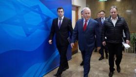 """نتنياهو: سنتصرف بقوة بـ """"غزة"""" إذا لزم الأمر وسننتقل لمرحلة ضم """"الضفة"""" لإسرائيل (فيديو)"""