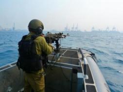 إصابة الصياد عمران بكر في بحر غزة